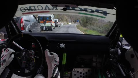 Rally Ronde Val Merula, in prova speciale sulla Skoda R5 Pool Racing