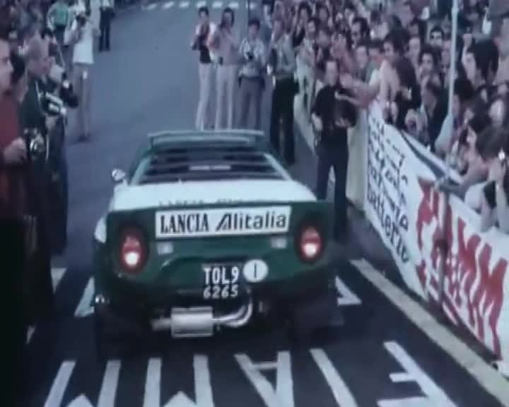 Lancia Stratos World Meeting sulle strade del Rallye di Sanremo 2019