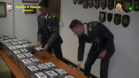 Droga, maxi sequestro a Genova: tre arrestati, il video