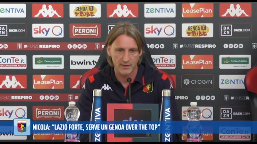 "Nicola suona la carica: ""Servirà un Genoa over the top. Schone? Si è allenato"""